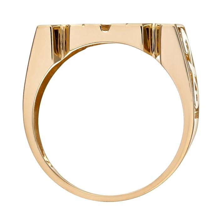 Naava 9ct Yelow Gold Mum Ring PR05783Y lukseyYu0M
