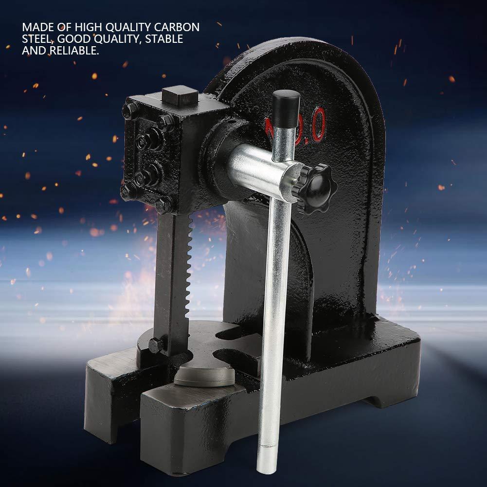 0.5T Arbor Press, Manual Desktop Punch Press Machine Metal Arbor Press Tool by Yosoo (Image #9)