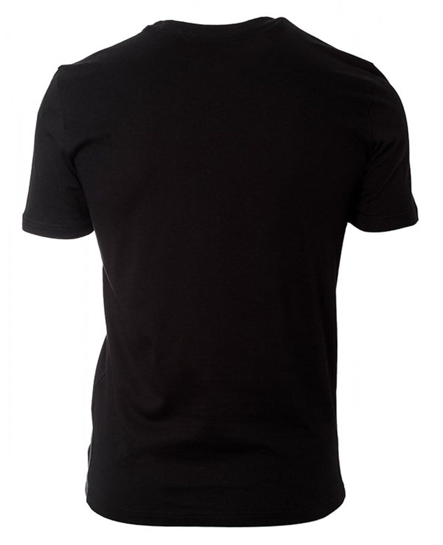 155d8b0c Versace Men's T-Shirt Girocollo, Black, Medium: Amazon.ca: Clothing &  Accessories
