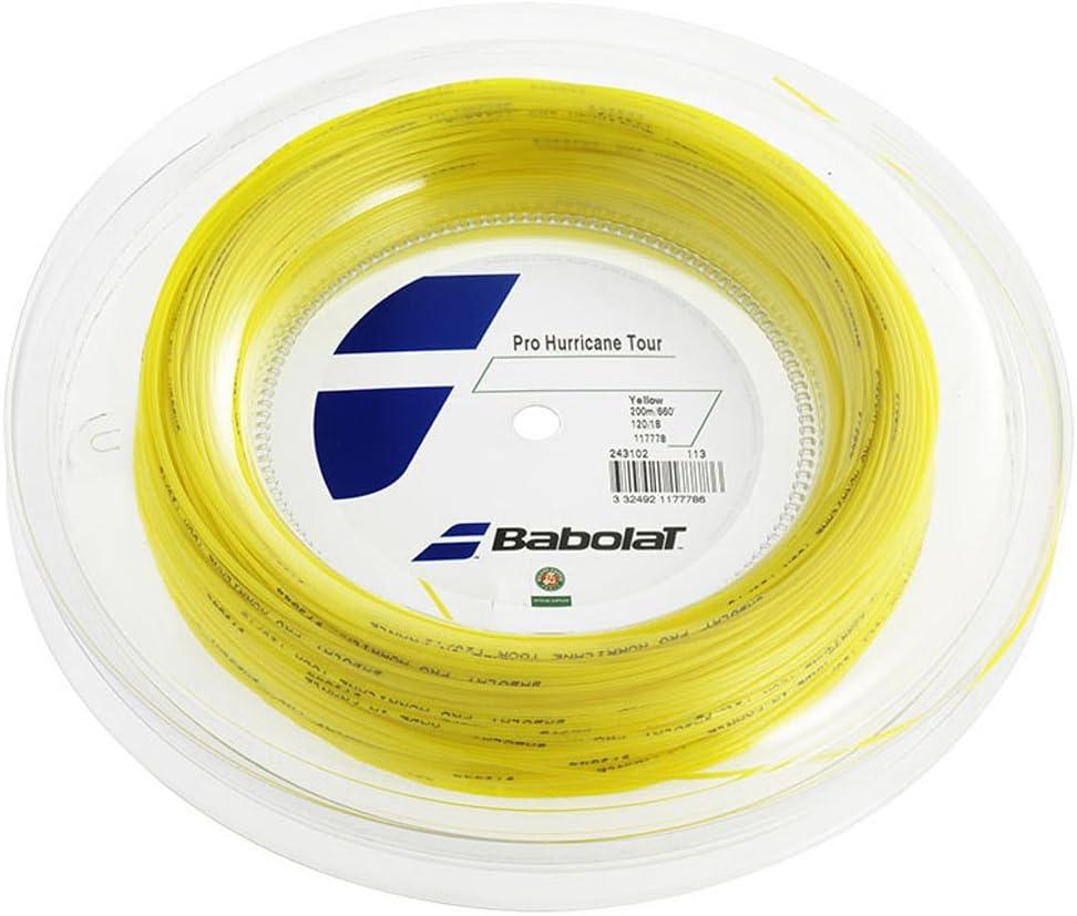 Babolat Pro Hurricane Tour (17g-1.25mm) Tennis String Reel (660')