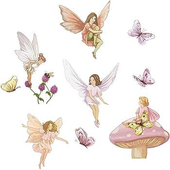 Amazon Com Funtosee Enchanted Fairy Garden Girls Nursery