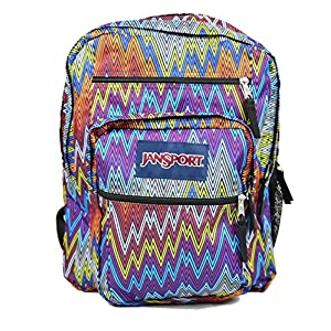 JanSport Big Student Backpack (One Size, Multi Tip Top Chevron)