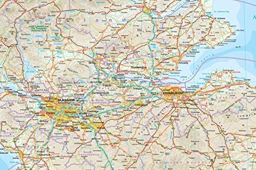 Escocia, mapa de carreteras impermeable. Escala 1:400.000. Reise Know-How.: Amazon.es: VV.AA.: Libros