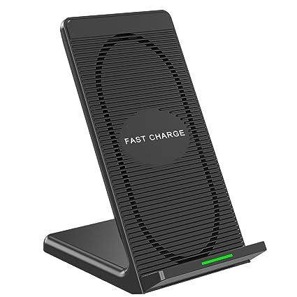 Amazon.com: Cargador inalámbrico rápido con ventilador de ...