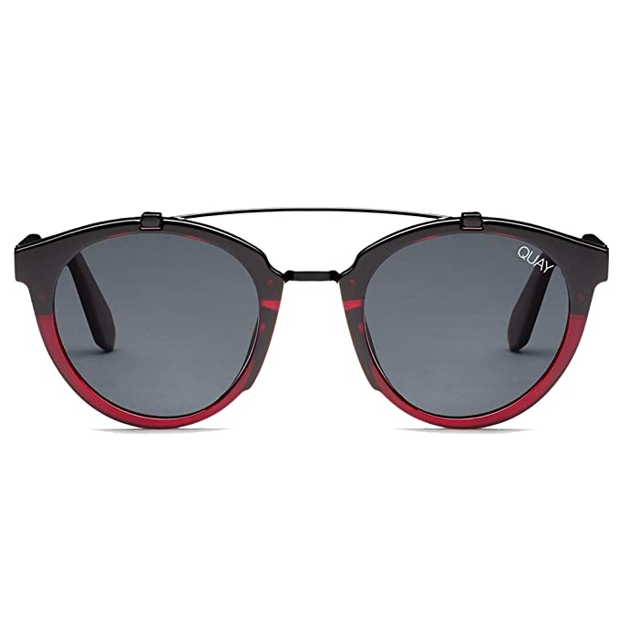 Amazon.com: Quay All Over - Gafas de sol para hombre, Rojo ...