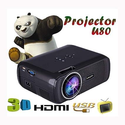 Proyectores de rayo laser 1080p Full HD 1000 lúmenes Corrección ...