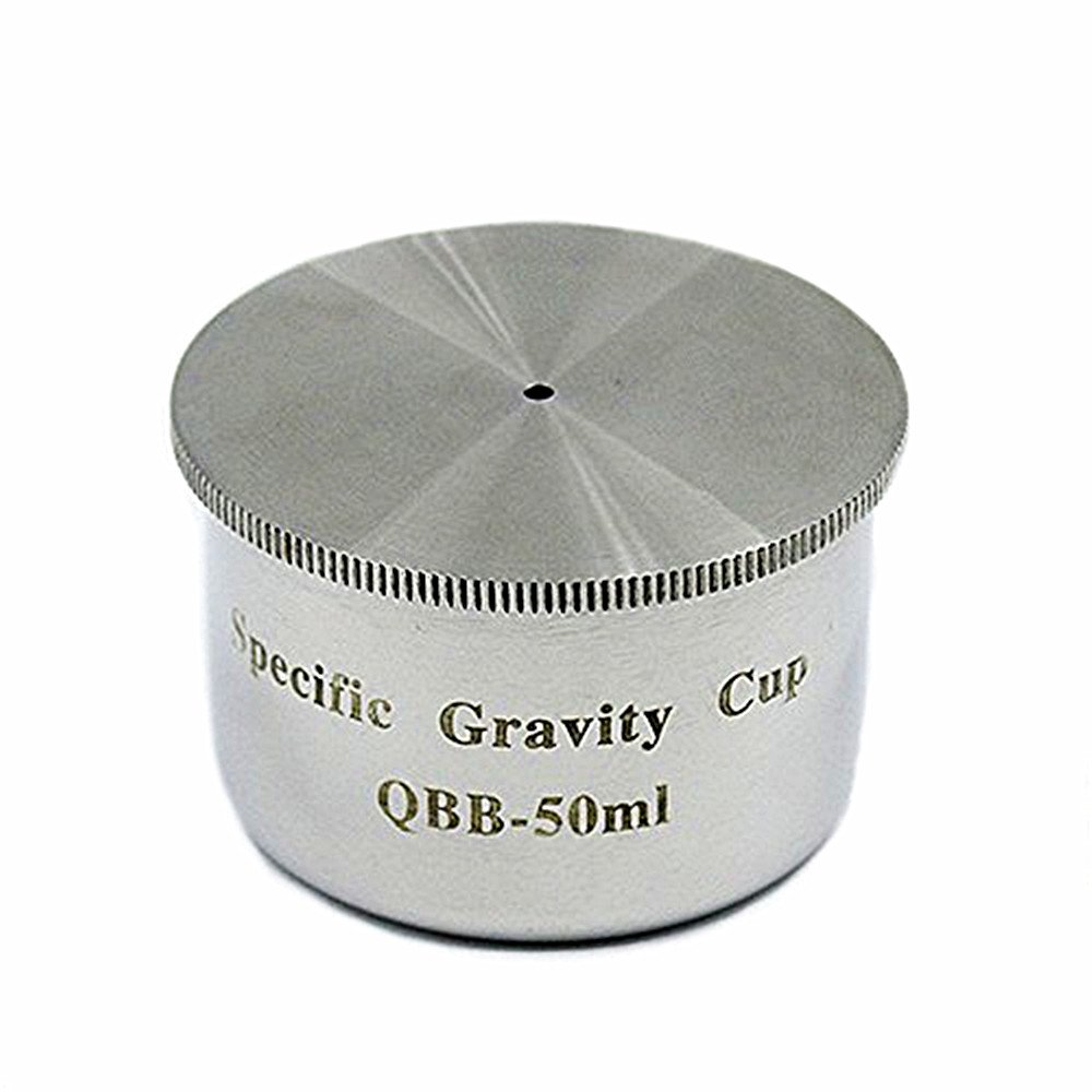 MXBAOHENG Stainless Steel QBB Paint Coating Density Cup 50cc/ml Specific Gravity Cup (50ml) by MXBAOHENG