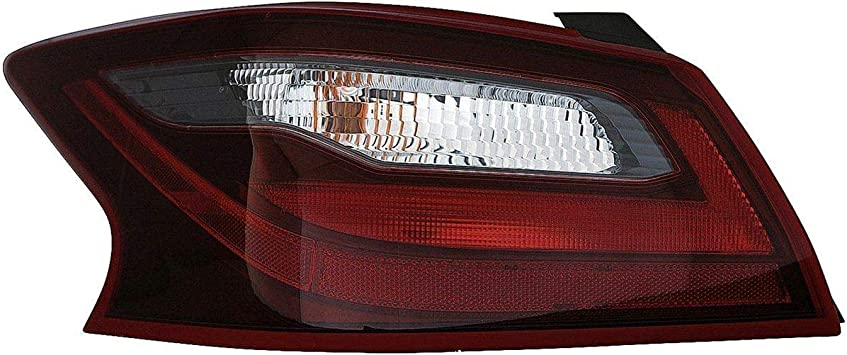 2018-2018 Nissan Altima Passenger Side Inner Tail Light Assembly; Without Sport Package Without Smoked Housing; Deck Lid Mounted Partslink NI2803117N