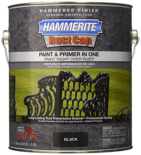 Masterchem Industries 45140 Hammered Paint, (Black Hammered Paint)