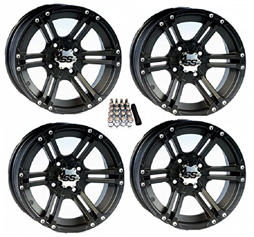 SS212 Black Wheels 12SS404 EZ GO