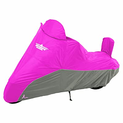 UltraGard 4-459PC Pink/Charcoal Cruiser Motorcycle Cover: Automotive