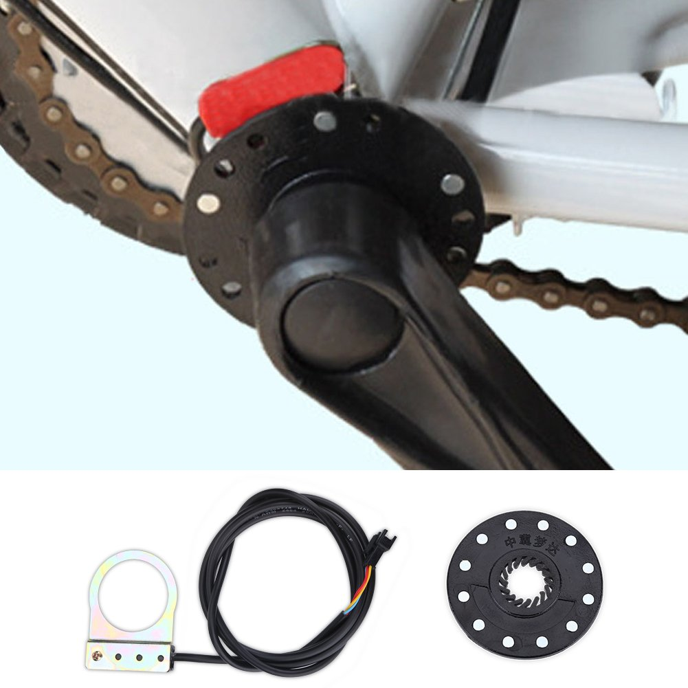 Dioche Sensor de Pedal, 12 Imanes 12 Pulsos por Revolución Sensor ...