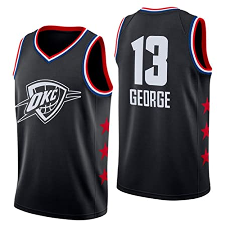 JERSEY-BX Camiseta Deportiva Sin Mangas para Hombre - NBA Oklahoma ...