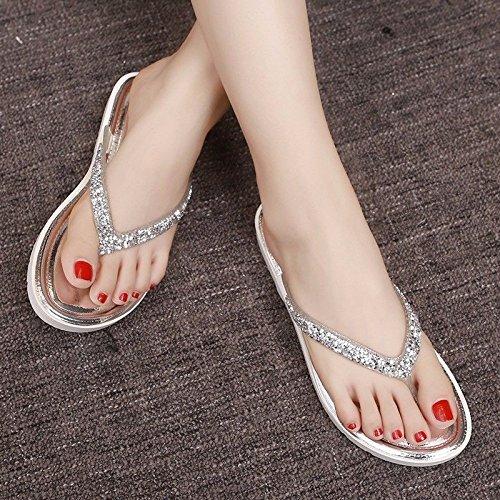 versione Bianco flip piatte ladies usura italiana prodotti di di XZ coreana pantofole flop moda piedi freddo moda LIUXINDA donna Nuovi di scarpe Estate pantofole a trascinamento AU6q0wx4n