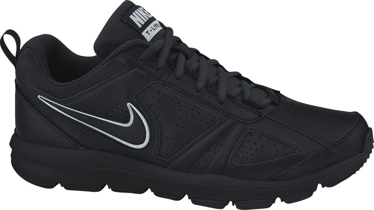 Nike Herren T-Lite Xi Sneaker  40.5 EU|Schwarz (Black/Black-metallic Silver 007)