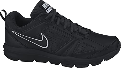 NIKE Men's T-Lite XI Black/Black/Metallic Silver Training Shoe 7.5 Men