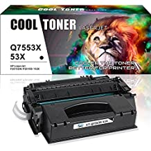 Cool Toner 1 Pack 49X Q5949X 53X Q7553X Compatible Black Toner Cartridge Replacement Used For LaserJet 1320 P2015 P2015dn 1320n 3390 P2015d 1320nw 1320tn M2727nf 1160 3392 P2015n M2727nfs MFP
