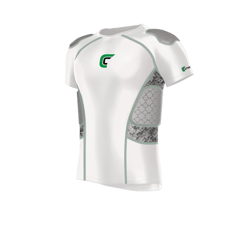 b490ab74915 Amazon.com   Cutters Rev Impact 5-Pad Shirt Football