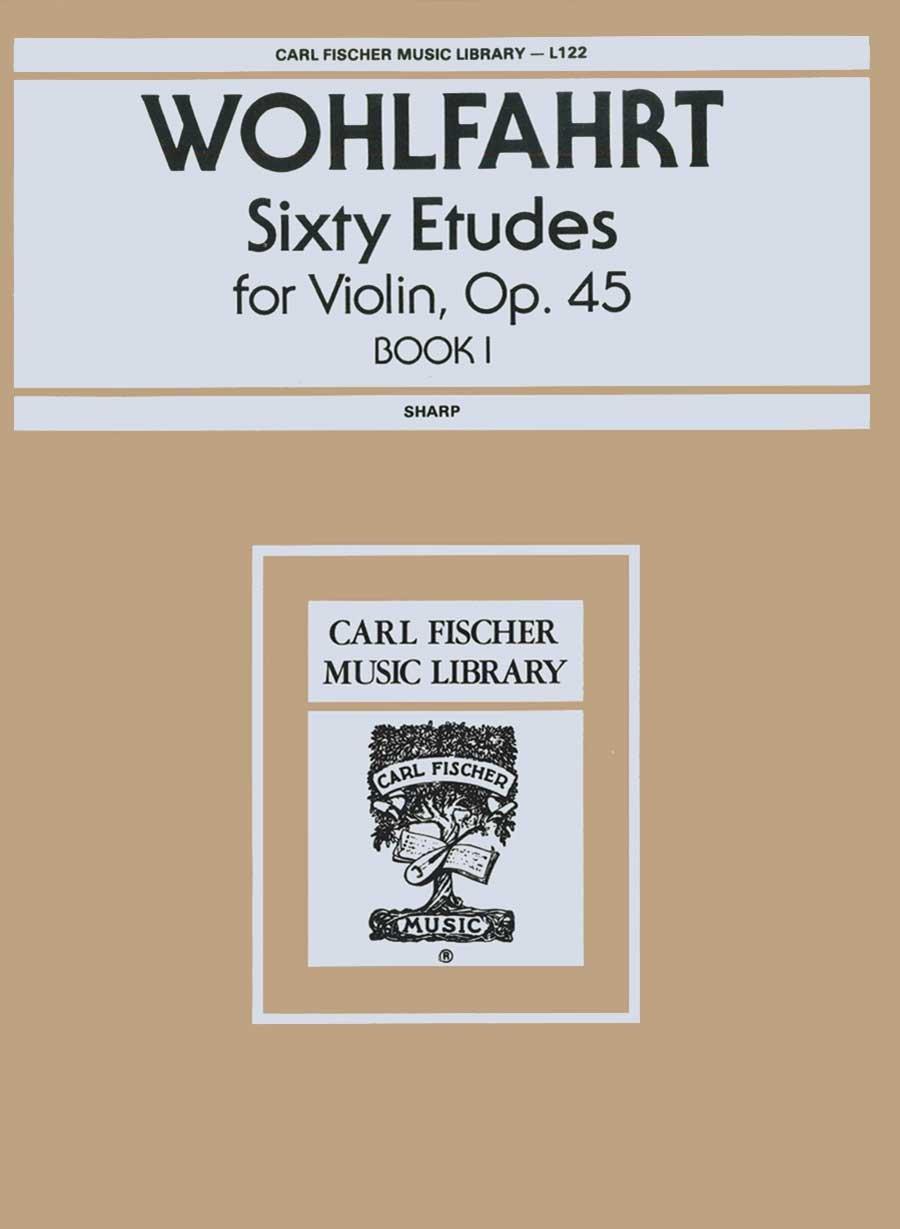 Wohlfahrt: Sixty Etudes for Violin, Op. 45 Book 1 (Sharp)