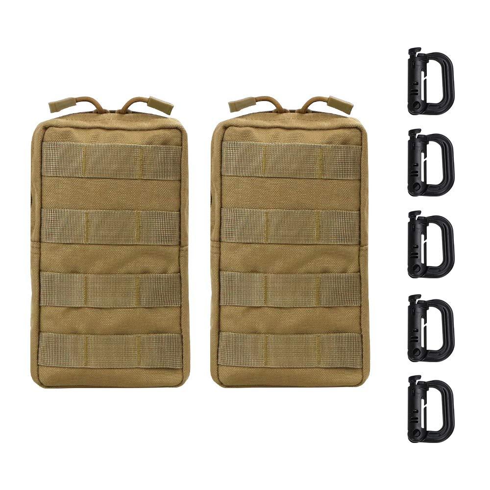 Vihir 40L Militar Mochila Táctica - Ejército Molle Bug out Bolsa Sport Mochila al Aire Libre