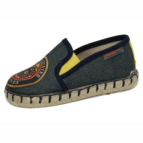 MORANCHEL 1309 Lonas DE Esparto NIÑO Zapatillas: Amazon.es: Zapatos y complementos