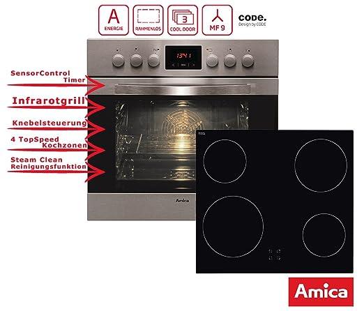 Juego de Instalación de horno vitrocerámica Acero Inoxidable ...