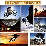 Limirror Gants Tactiques Plein-Doigt Hommes Mi-Saison Sport de Plein air pour Combat, Scooter, Militaire, Moto,Paintball… 10