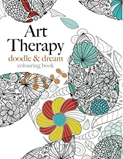 Art Therapy Doodle Dream Inspiring For Creative Relaxation