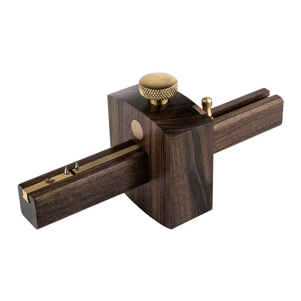 Marking gauge, Kattool 6.4'' Mortise Marking Gauge Woodworking Marking Gauge Mark Gauge Wood Marking Tool for Carpentry Woodworker