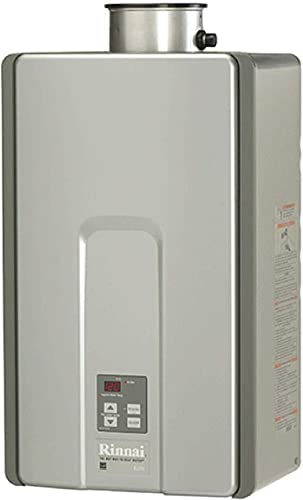 Rinnai RL Series HE Tankless Hot Water Heater Indoor Installation, Large
