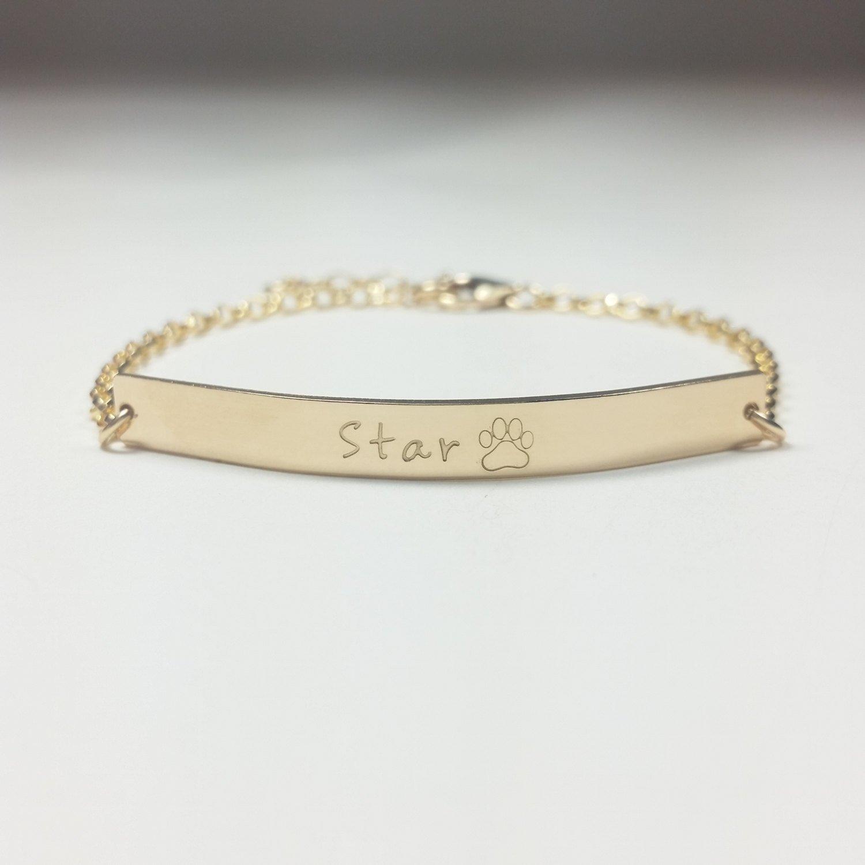 Pet jewelry, pet memorial jewelry, dog jewelry, cat bracelet, dog bracelet, custom bracelet, engraved bracelet, personalized name bracelet