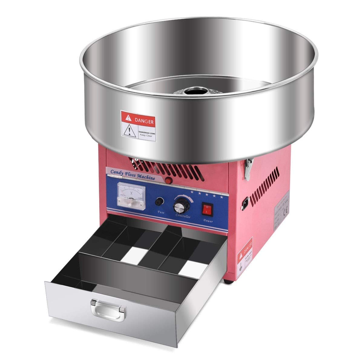 Cotton Candy Machine, Pink Electric Cotton Candy Machine by MD Group (Image #5)