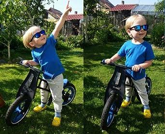 SojoS Kids Gafas De Sol Niños Y Niñas Wayfarer Marco Flexible Lentes Polarizadas UV400 SK205 Marco Azul Oscuro/Lentes Grises: Amazon.es: Ropa y accesorios