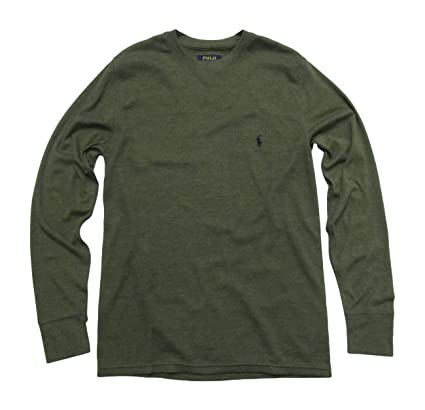 9beb0992276 Polo Ralph Lauren Men s Long-sleeved T-shirt Sleepwear   Thermal at Amazon  Men s Clothing store