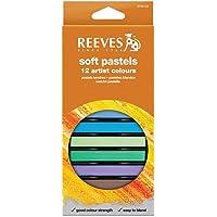 Giz Pastel Seco Reeves 12 Cores