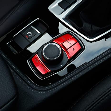 Amazon.com: Embellecedor de botones multimedia para coche ...