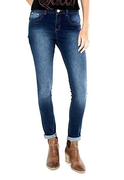 0e2357e076794 Citrus Jeans Azul Marino Jeans para Mujer Azul Talla 24  Amazon.com ...