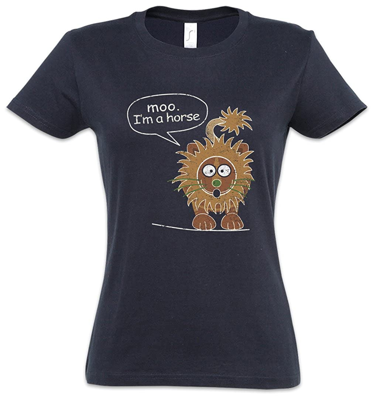 Urban Backwoods Moo Im A Horse Camiseta de Mujer Women T-Shirt ...