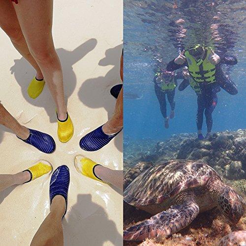 da Uomini Scarpe Yellow Scarpe Acqua Spiaggia per Donna E81FUxSnxw