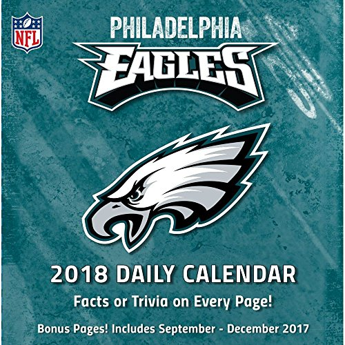 Philadelphia Eagles 2018 Desk Calendar