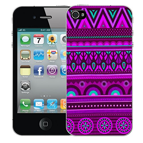 Mobile Case Mate iPhone 4 Silicone Coque couverture case cover Pare-chocs + STYLET - Memorial pattern (SILICON)