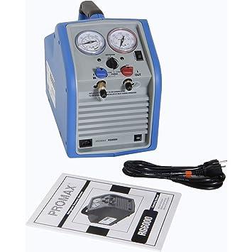 Robinair RG6 Portable Refrigerant Recovery Machine - 115V AC, 60 Hz