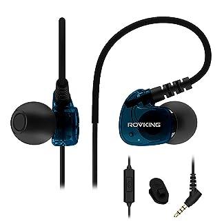 Rovking Sweatproof Sport Workout Headphones