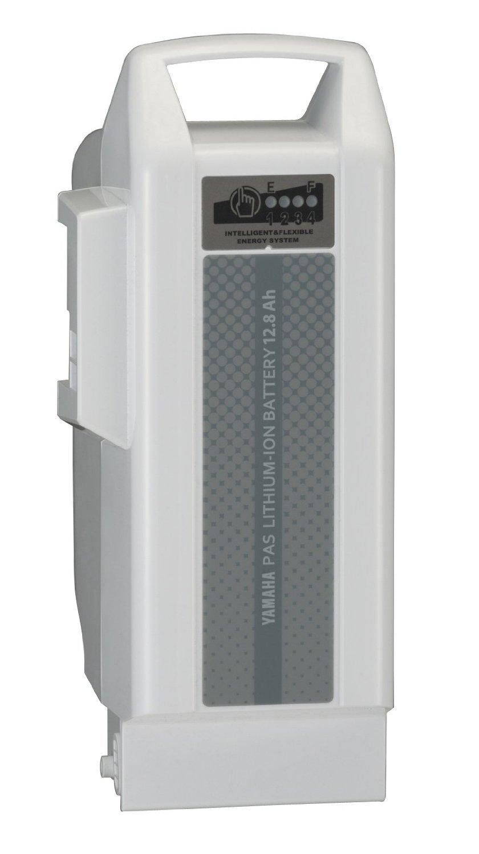 ヤマハ純正品 13年~モデル対応 12.8Ah 急速充電対応リチウムイオンバッテリー ホワイト X91-00 ヤマハPAS専用【X91-82110-00-teito】   B019RO5M3E