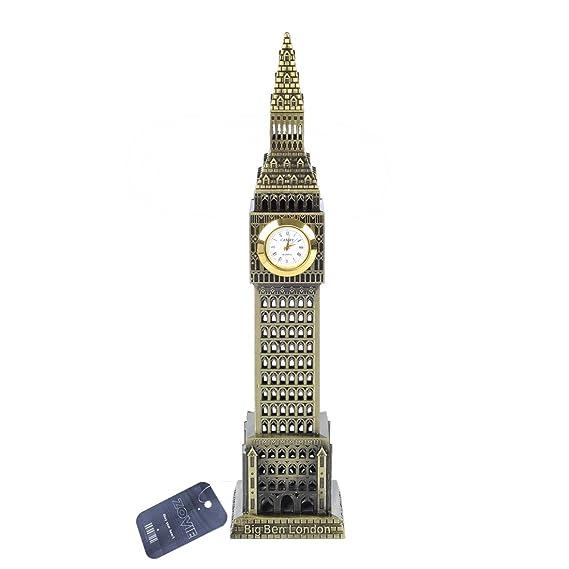 Amazon.com : Zovie Big Ben Statue London Landmarks Glorious Home Decoration Make of Pure Copper (Real Clock Big Ben Bronze) : Garden & Outdoor