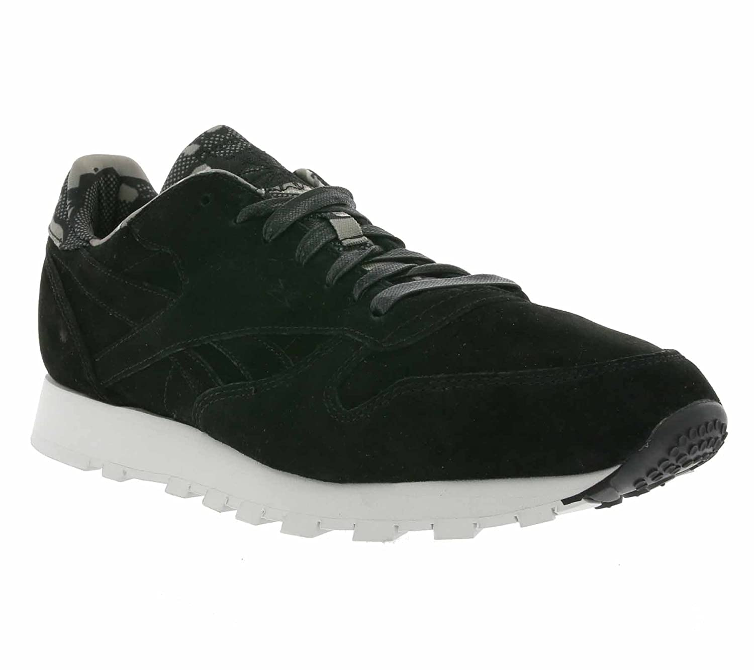 392caf778d5 Reebok Classic Leather CL TDC Mens Trainers Black AR1433  Amazon.co.uk   Shoes   Bags