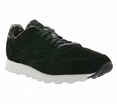 f545052da86 Reebok Classic Leather CL TDC Mens Trainers Black AR1433  Amazon.co ...