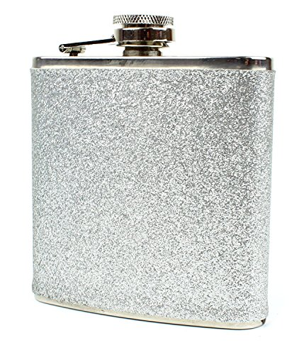 Stainless Steel Colorful Glitter Flask