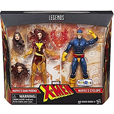Marvel Legends X-Men Cyclops and Dark Phoenix Exclusive Action Figures, 6 Inches - 4031333 , B072TQJ3MC , 454_B072TQJ3MC , 162 , Marvel-Legends-X-Men-Cyclops-and-Dark-Phoenix-Exclusive-Action-Figures-6-Inches-454_B072TQJ3MC , usexpress.vn , Marvel Legends X-Men Cyclops and Dark Phoenix Exclusive Action Figures, 6 Inches