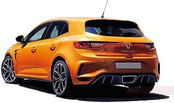Norev Nv185225 Renault Megane R S 2017 Tonic Orange 1 18 Model Lino Die Cast Spielzeug